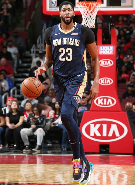Anthony Davis Height Weight Shoe Size