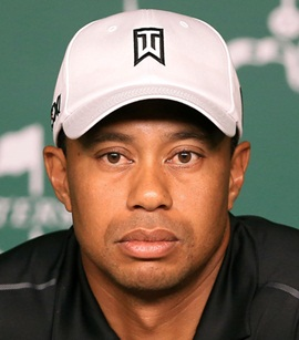 Golfer Tiger Woods