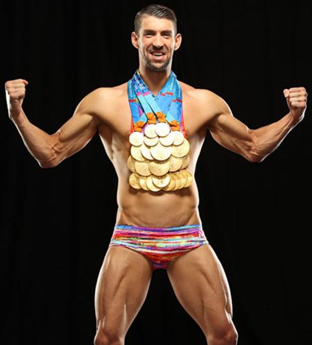 Michael Phelps Body Measurements Stats