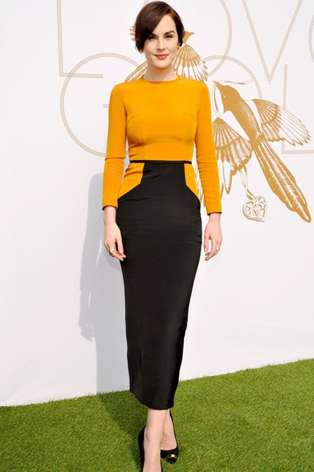 Michelle Dockery Body Measurements Stats