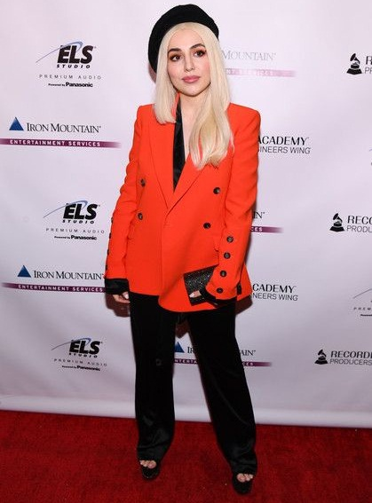 Ava Max Body Measurements Stats