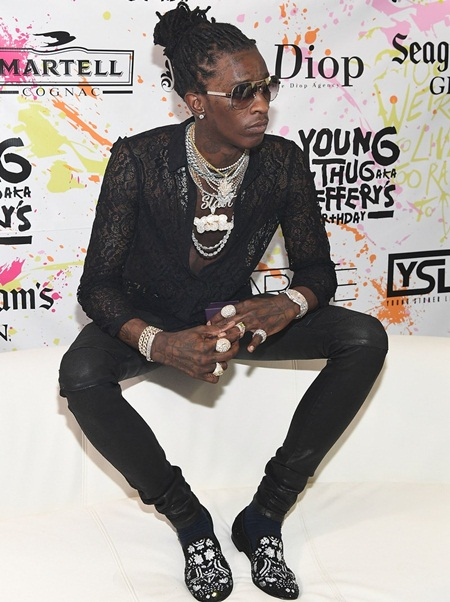 Young Thug Body Measurements Stats