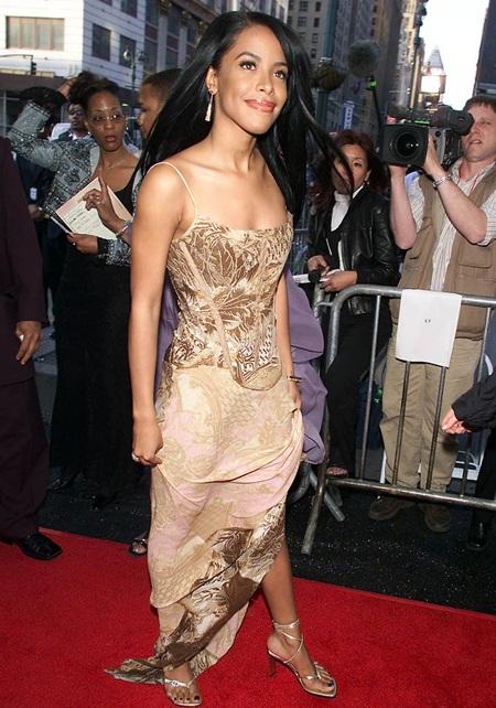 Aaliyah Measurements Bra SIze