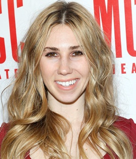 Actress Zosia Mamet