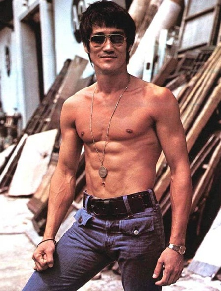 Bruce Lee Body Measurements Stats