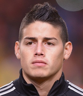 Footballer James Rodriguez