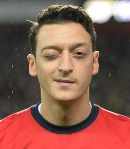 Footballer Mesut Ozil