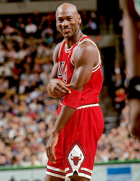 Michael Jordan Body Measurements Stats