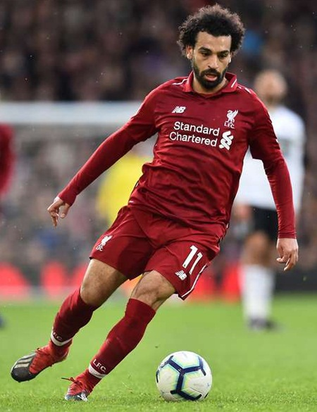 Mohamed Salah Height Weight Stats