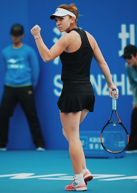 Simona Halep Body MeasurementsSimona Halep Body Measurements