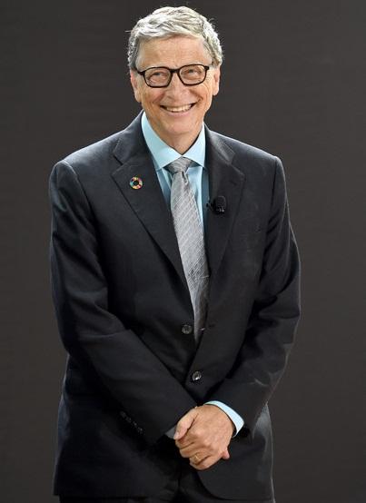 Bill Gates Body Measurements Stats