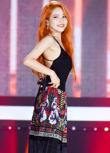 Mamamoo Solar Body Measurements Stats