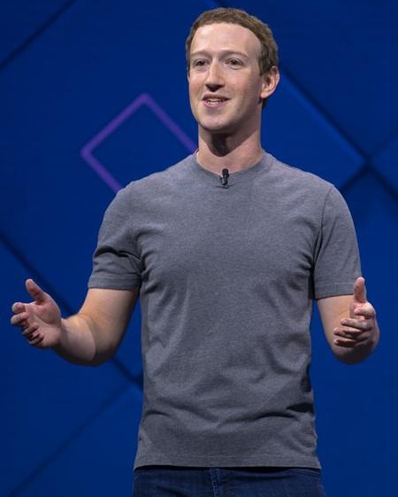 Mark Zuckerberg Body Measurements Stats