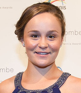 Tennis Player Ashleigh Barty
