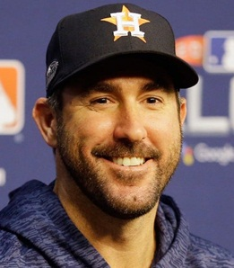 Baseball Player Justin Verlander
