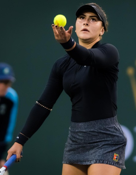 Bianca Andreescu Body Measurements Stats