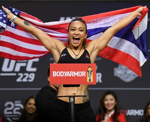 Michelle Waterson Body Measurements Stats