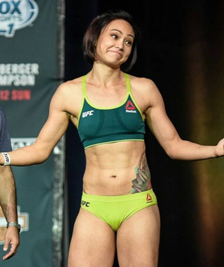 Michelle Waterson Height Weight Facts