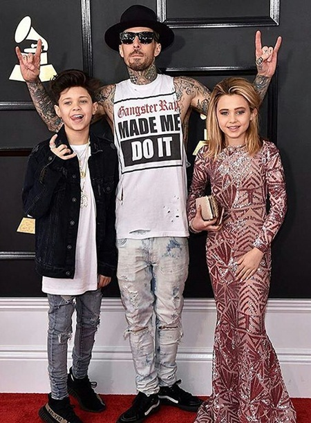 Travis Barker Body Measurements Stats