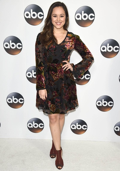Hayley Orrantia Measurements Facts