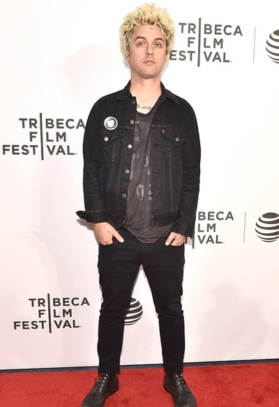 Billie Joe Armstrong Height Weight Shoe Size