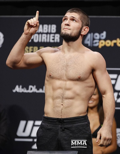 Khabib Nurmagomedov Body Measurements Stats