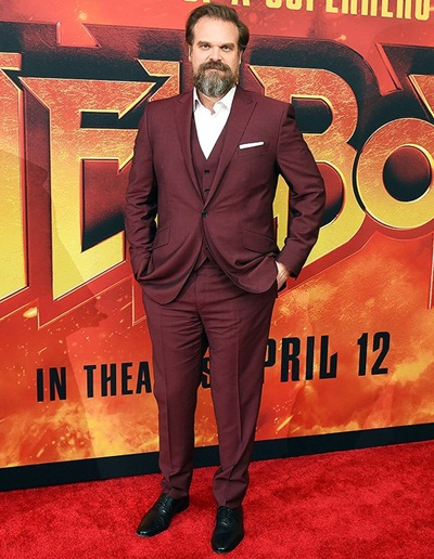 David Harbour Body Measurements and Facts