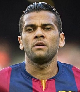 Footballer Dani Alves