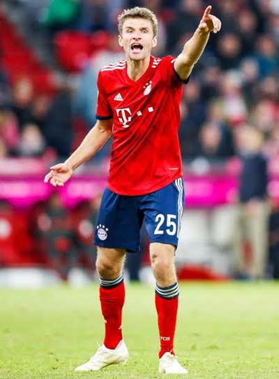 Thomas Muller Height Weight Stats