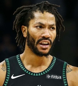 Basketball Player Derrick Rose