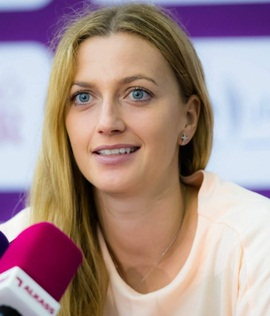 Tennis Player Petra Kvitova
