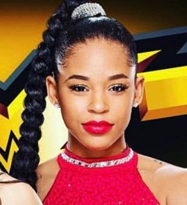 Wrestler Bianca Belair