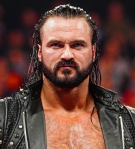 Wrestler Drew McIntyre