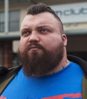 Professional Strongman Eddie Hall