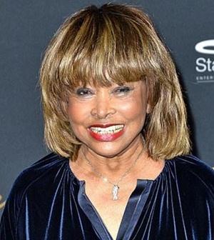 Singer Tina Turner