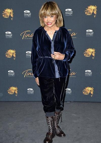Tina Turner Height Weight Stats