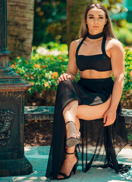 Deonna Purrazzo Height Weight Stats