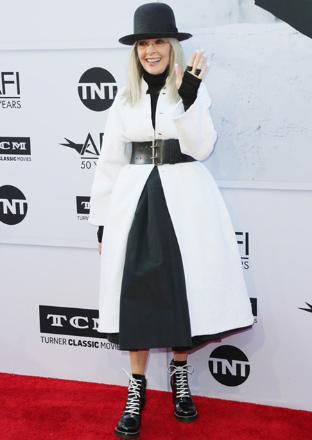 Diane Keaton Height Weight Stats