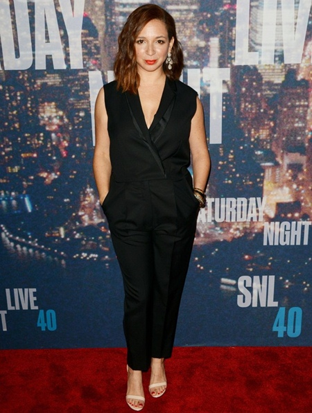 Maya Rudolph Height Weight Stats
