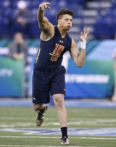 Patrick Mahomes Height Weight Shoe Size