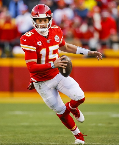 Patrick Mahomes Measurements and Bio