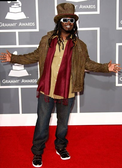 T-Pain Height Weight Shoe Size