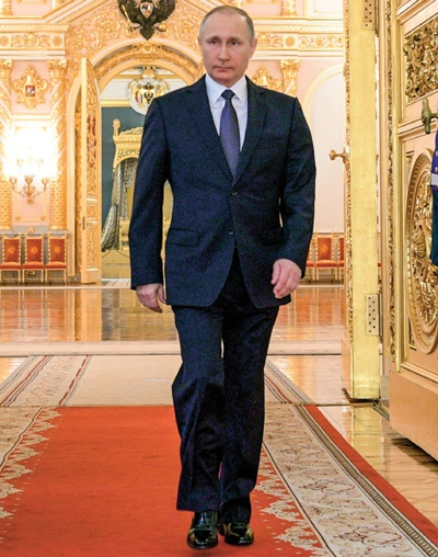 Vladimir Putin Body Measurements and Facts
