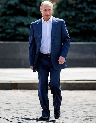 Vladimir Putin Height Weight Shoe Size