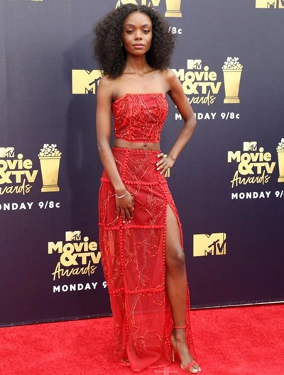 Ashleigh Murray Height Weight Measurements