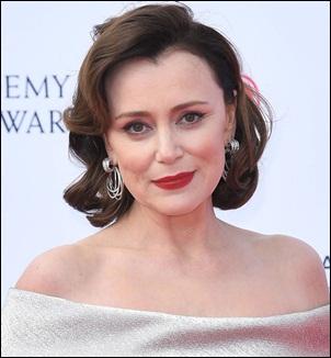 Actress Keeley Hawes