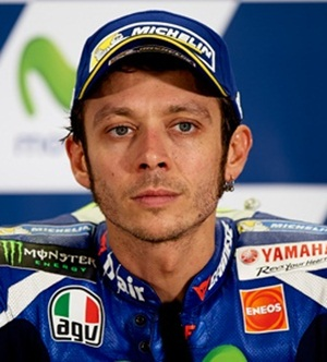 Motorcycle Racer Valentino Rossi