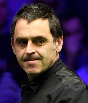 Snooker Player Ronnie O'Sullivan