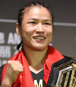 MMA Fighter Zhang Weili