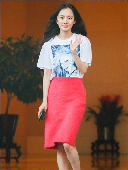 Yang Mi Height Weight Shoe Size
